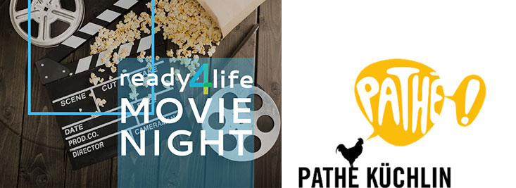 Abschlussevent ready4life Movie Night Pathé Küchlin